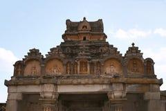 Vista general del complejo del templo de la colina de Vindhyagiri, Sravanabelgola, Karnataka Visión desde la colina de Chandragir Fotografía de archivo libre de regalías