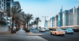 Vista generale del porticciolo del Dubai Immagine Stock Libera da Diritti