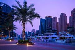 Vista generale del porticciolo del Dubai Fotografia Stock