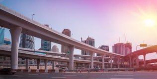 Vista generale del porticciolo del Dubai Fotografia Stock Libera da Diritti