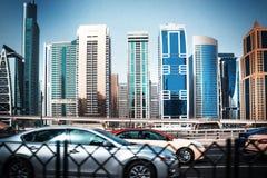 Vista generale del porticciolo del Dubai Immagini Stock Libere da Diritti