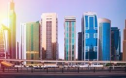 Vista generale del porticciolo del Dubai Fotografie Stock