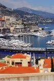 Vista generale del regno di Monte Carlo Immagine Stock