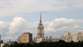 Vista generale della città Mosca con una parte migliore Fotografia Stock