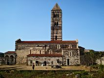 Vista generale di Sakkardga della basilica Fotografie Stock