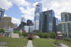 Vista generale di Toronto dei grattacieli Immagini Stock