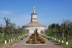 Vista generale di un monumento antico Immagini Stock Libere da Diritti