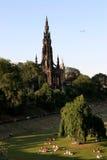 Vista geral da cidade Fotografia de Stock