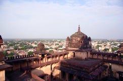 Vista geral da igreja, India Foto de Stock Royalty Free