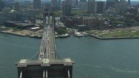 Vista geral da ponte de Brooklyn filme