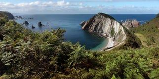 Vista geral da praia do silêncio Fotografia de Stock