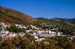 Vista geral da vila de Mijas Fotografia de Stock Royalty Free