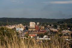Vista geral de Ashland, Kentucky foto de stock royalty free