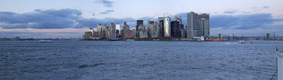 Vista geral de mais baixo Manhattan 01 Fotografia de Stock Royalty Free