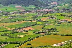 Vista geral de Norcia em Italy Foto de Stock
