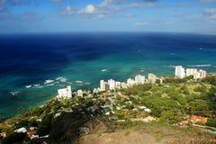 Vista geral de Oahu Imagem de Stock