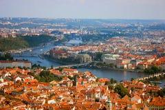 Vista geral de Praga Fotografia de Stock