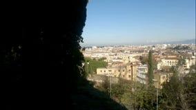 Vista geral de Roma filme