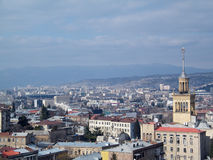Vista geral de Tbilisi Foto de Stock Royalty Free