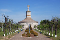 Vista geral de um monumento antigo Imagens de Stock Royalty Free