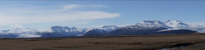 Vista geral de Vatnajökull das geleiras Fotografia de Stock Royalty Free
