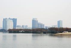 Vista geral da cidade Fotos de Stock Royalty Free
