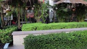 Vista geral do interior do restaurante em Dubai filme