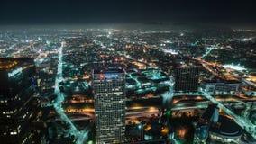 Vista geral do lapso de tempo de Los Angeles - 4K