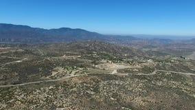 Vista geral do ponto da vista de Cahuilla Tewanet, CA, EUA video estoque