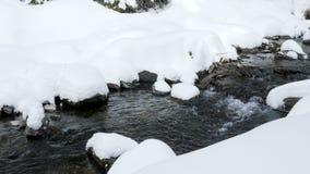 Vista geral do rio do inverno filme