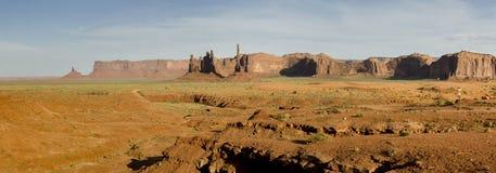 Vista geral do vale do monumento imagens de stock royalty free