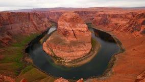 Vista geral em ferradura da curvatura no Arizona filme