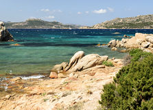 Vista geral em Sardinia Fotos de Stock Royalty Free
