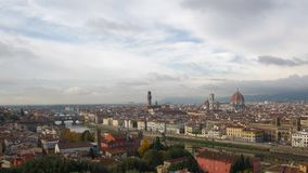 Vista geral Florença da cidade, Itália vídeos de arquivo