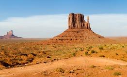 Vista geral no vale do monumento foto de stock