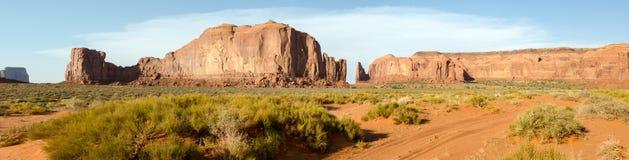 Vista geral no vale do monumento fotos de stock