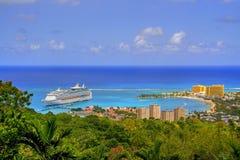 Vista giamaicana Fotografia Stock Libera da Diritti