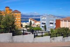 Vista in Gibilterra Fotografia Stock Libera da Diritti