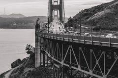 Vista golden gate bridge di North Point fotografia stock