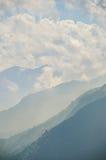 Vista graduado de la colina Fotografía de archivo libre de regalías