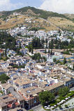 Vista a Granada, Andalucía, España Fotografía de archivo