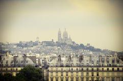 Vista grande de París, Francia Fotos de archivo