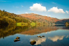 Vista a Grasmere Fotos de Stock Royalty Free