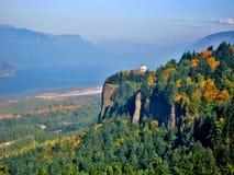 Vista-Haus in Oregon lizenzfreies stockbild
