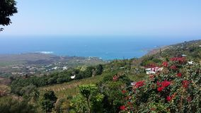 Vista hawaiana Immagini Stock