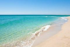 Vista hermosa de la costa Imagen de archivo libre de regalías
