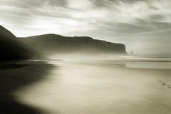 Vista hermosa de la costa costa Imagen de archivo
