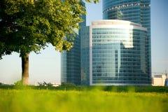 Vista hermosa de un edificio moderno Fotografía de archivo libre de regalías