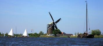 Vista holandesa Imagens de Stock Royalty Free