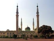 Vista horizontal da mesquita grande em Conakry Fotografia de Stock